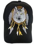 Native Pride Wolf Men's Adjustable Baseball Cap (S2-Black) - $11.95