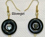 Blackstone donut hematite heart earrings gp thumb155 crop