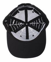 40 Oz NYC Forty Ounce New York Black Top Spider Web Snapback Baseball Hat NWT image 7