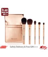 [Pony Effect] MINI Make-Up Brush 1 Set(5 items),Meme box  - Korea-Beauty - $35.66
