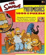 Simpsons Photomosaic Family Jigsaw Puzzle 1026pc - $25.00