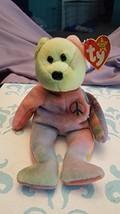 Ty Beanie Babies - Peace the Ty-Dyed Teddy Bear - $11.59