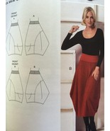 Vogue Sewing Pattern March Tilton 9060 Misses Skirt Size XS-M New - $20.14