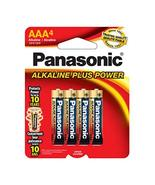 Panasonic T41843 AAA Alkaline Batteries44; Pack of 4 - $9.79