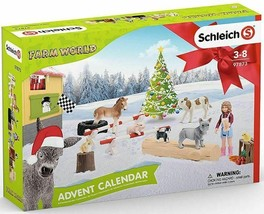 # Schleich FARM WORLD ADVENT CALENDAR VERY NICE 2019   97873<> - $33.85