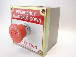 NEW Pilla HVAC120N1 Emergency HVAC Shut-Down Operator NEMA-1 Indoor Use ... - $98.99