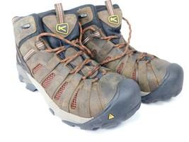 Keen Flint Mid Top Size 8 M (D) EU 40.5 Men's Steel Toe Work Shoes Boots... - $91.12 CAD