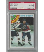 1978-79 Topps #115 Mike Bossy PSA 4 RC Rookie NY Islanders  - $17.77
