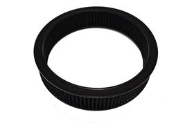 HIGH FLOW REPLACEMENT AIR CLEANER ASSEMBLY W/ FLOW-THRU LID AIR FILTER BLACK image 8