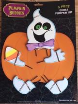 Pumpkin Buddies 5 Piece Ghost Pumpkin Decorating Kit - $11.39