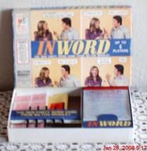 Vintage Inword Game Milton Bradley 1972 - $10.04