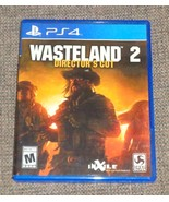 Wasteland 2 Role-Playing RPG, Playstation 4 PS4 Sequel to 1980s Interpla... - $19.95