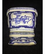 Imperial order YONGZHENG. -Yongzheng -Reign blue white planter and plinth  - $11,000,000.00