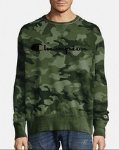 Champion Men's Vintage Dye Fleece Camo Sweatshirt w/Felt Logo - 2 COLORS... - $46.54
