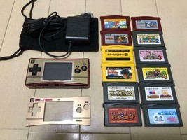 Nintendo Game Boy Micro NES Color 2 Complet Software etc. set From Japan - $346.49