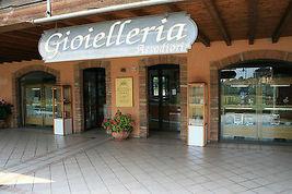18K YELLOW WHITE GOLD EARRINGS ALTERNATE WORKED HOOPS HOOP 13 MM MADE IN ITALY image 7