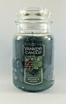 Yankee Candle BALSAM & CEDAR 22 Oz Jar Candle - $19.79