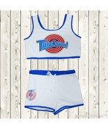 Space Jam Tune Squad Ladies Set Girls Jersey and Shorts Stitched Retro W... - $26.49
