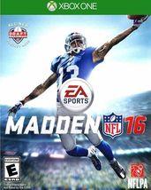 Madden NFL 16 (Microsoft Xbox One, 2015) - $10.00