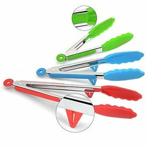 Mekbok Kitchen Tongs with Silicone Tips and Stands, Cooking Tongs, Bbq G... - €12,32 EUR