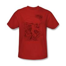 Superman T-shirt Metropolis red cotton Man Steel  tee comic superhero DC  SM1838 image 2