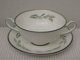 SPRING ZEPHYR by  Royal Doulton FOOTED CREAM SOUP BOWL (s) H4931 England... - $24.24