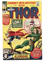 JOURNEY INTO MYSTERY #108 1964-MIGHTY THOR HIGH GRADE VF- - $224.31