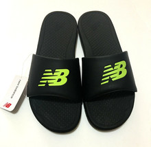 cff9c5aefc038 Black New Balance Pro Slide MENS Lightweight Sandals Size 8 9 10 11 12 B.