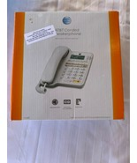 AT&T CL2909 Corded Phone with Speakerphone and Caller ID/Call Waiting, W... - $19.88