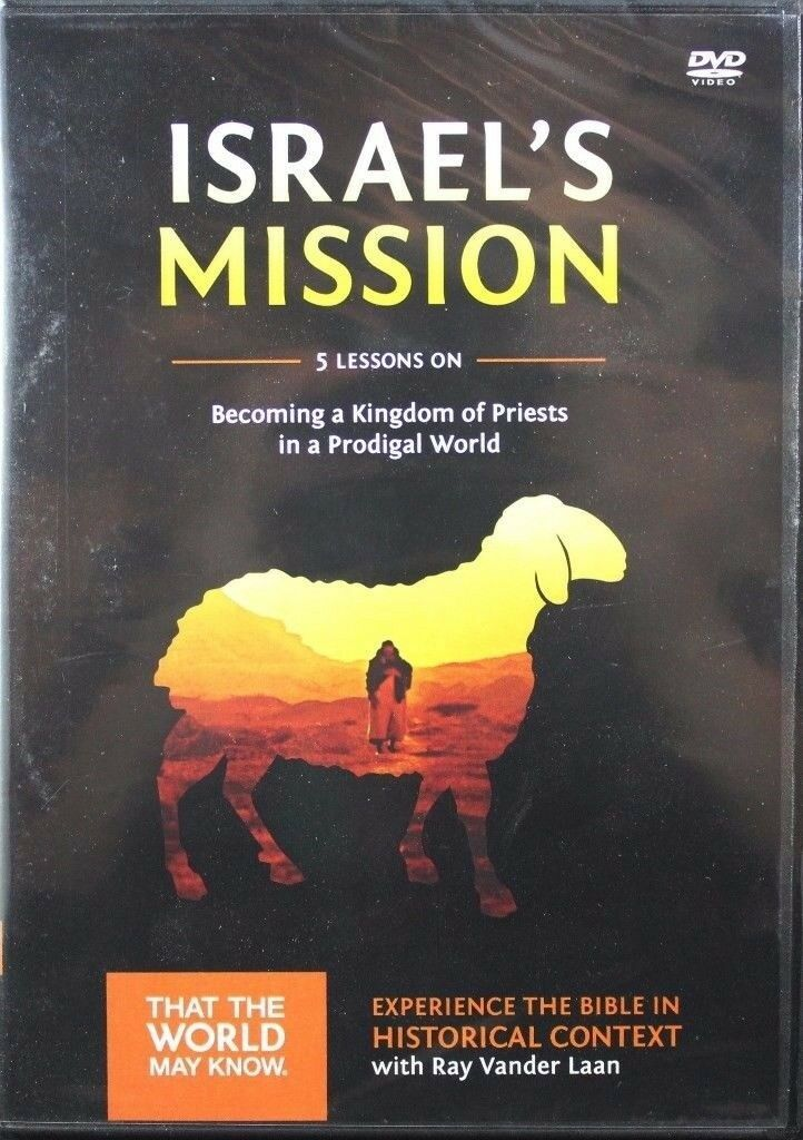 Primary image for Faith Lessons Volume 13 Israel's Mission Ray Vander Laan NEW Christian DVD
