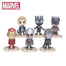 5cm 6pcs/set Marvel Toys the Avengers Figure Set Antman Captain America ... - $25.99+