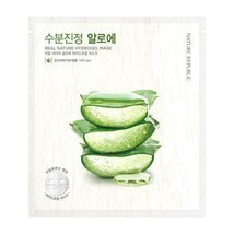 NATURE REPUBLIC Real Nature Hydrogel Mask Aloe Vera - 5 pack - US Seller - $17.33