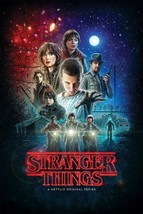 Stranger Things Wall Poster TV Movie Series High Quality Paper 24 X 36 I... - $17.92