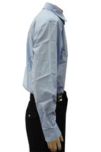 NEW NWT GIOBERTI MEN'S CLASSIC LONG SLEEVE BUTTON UP CASUAL DRESS SHIRT SKY BLUE image 2