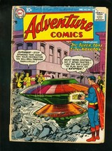 ADVENTURE #243 1957-SUPERBOY-GREEN ARROW-AQUAMAN-DC COMICS-bargain copy FR - $37.83