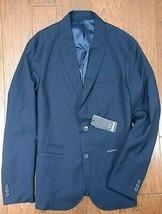 Armani Exchange A X Homme Bleu Marine Micro Plaids Sport Blazer Manteau 46 - $68.63