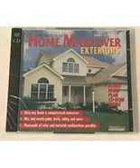 Home Makeover Exteriors Homestyles CD-ROM PC Computer Software New Sealed - $9.99