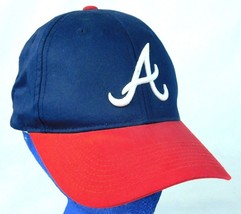 Atlanta Braves Team MLB Blue Red Baseball Cap - $9.99