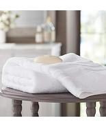 Member's Mark Hotel Premier Collection 100% Cotton Luxury Bath Towel, White - $18.81