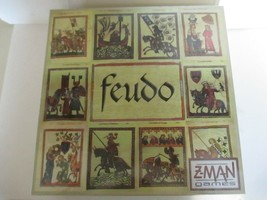 Feudo- Z-Man games Board game new and sealed! England Battle Manor of Evesham - $19.79