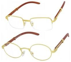 Gafas de Sol Lentes de Moda para Hombres y Mujeres Nuevo Espejuelo Clear Eyewear - $16.99