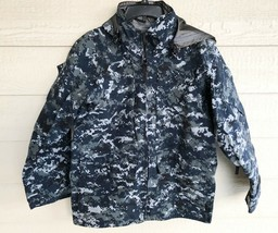 US NAVY NWU GORE TEX COLD WEATHER DIGITAL CAMOUFLAGE PARKA - SMALL X-SHORT. - $163.35