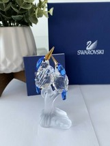 Swarovski Crystal Malachite Kingfishers 623323 Retired with Original Box & COA - $158.02