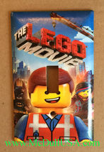 The Lego Movie Light Switch Outlet Duplex Wall Cover Plate Home decor image 1