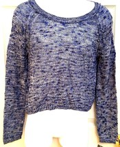 INC Women's Long Sleeve Sweater Open Back Top Knit Crew Neck Medium New ... - $19.99
