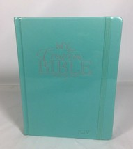 KJV Journaling Bible Hardcover My Creative Bible in Teal BRAND NEW SEALED - $69.29