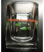 Jimmy Buffet's Margaritaville Shot Glass Wastin Away Again Key West Squa... - $8.99