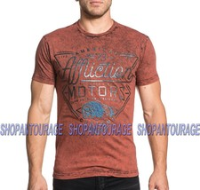 AFFLICTION AC Cali Motors A18581 Short Sleeve Graphic Fashion T-shirt for Men - $45.95