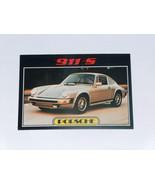 1976 Topps Autos of 1977 Porsche 911 S #79 Sports Car Card VG-EX Condition - $14.83