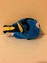 "Plush Stuffed Animal Disney Finding Dory 6"" Bandai 2016 - $0.98"